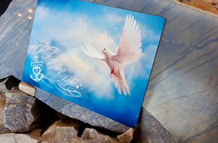 Print the aluminium plate with text sublimation